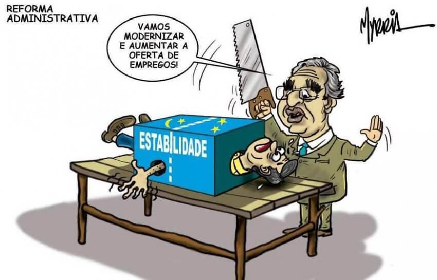 Reforma administrativa engatilhada para ser enviada ao congresso – por José Sillos; Com Myrria