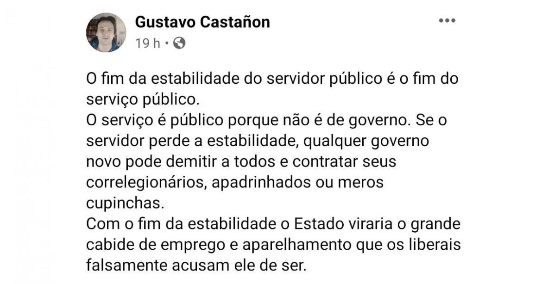 Sucatear para Privatizar: A importância da estabilidade do servidor público e a real estratégia por trás da reforma administrativa – por Gustavo Castañon; com Myrria
