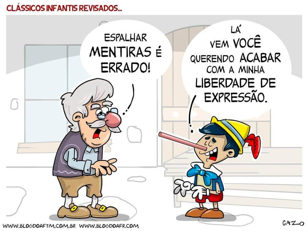 HOJE É O DIA NACIONAL DO JORNALISTA (Com a História na mão) – por Chico Alencar; Charge de Luiz Fernando Cazo